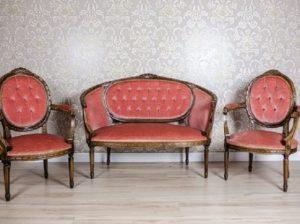 antyczne fotele